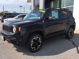 jeep renegade camping used 2015 jeep renegade trailhawk aurora il coffman gmc