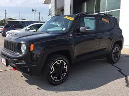 jeep renegade sierra blue used 2015 jeep renegade trailhawk aurora il coffman gmc