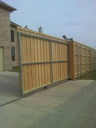 solar powered electric driveway gate fences u0026 decks by t campbell