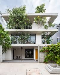 residential house vtn architects completes u0027stacked planters house u0027 in vietnam