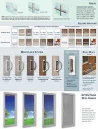 Okna Patio Doors Okna Elegante Sliding Patio Doors Options Accessories