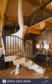 Wooden Banister Wooden Railing And Stairs And Indoor Stock Photos U0026 Wooden Railing