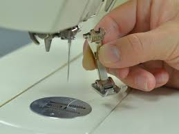 change the presser foot on a sewing machine ifixit