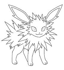 pokemon coloring pages jolteon pokemon coloring pages umbreon