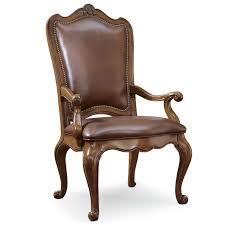 universal villa cortina leather dining arm chair baer u0027s