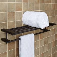Floor Towel Racks For Bathrooms by Chartley Double Towel Rack Bathroom