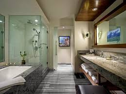 warm inviting modern rustic bathroom decor home decorating ideas
