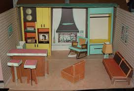 Barbie Dolls House Furniture Ideal Doll House For Tammy Barbie U0026 Similar Sized Dolls 1963