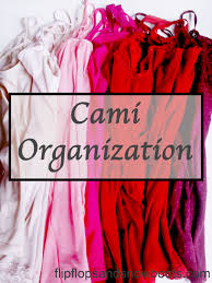 cami organization closet space saving tip dream design diy