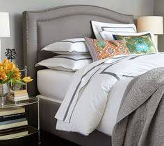 Pottery Barn Upholstered Bed Http Www Potterybarn Com Products Fallon Upholstered Bed