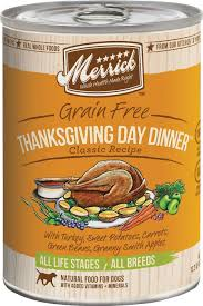 merrick classic grain free thanksgiving day dinner recipe canned