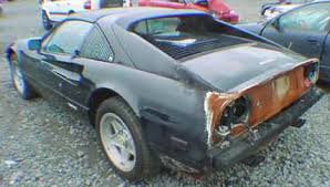 crashed for sale for sale exotics cars at discounted prices 1986