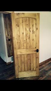 Interior Door Stain Knotty Alder Staining Options Knotty Alder Solid Wood Custom