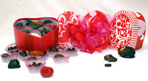 decorations valentines day chocolate gift idea with red boxes