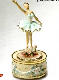 Unique Music Box Rotating Ballerina Water Globe Music Box Collectible Musical