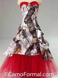 colorful red blue pink camo wedding dress 2017 sale sweetheart