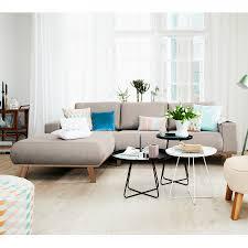 Wohnzimmer Einrichten Ecksofa Interessant Ecksofa Ideen Modernes Wohnzimmer Mit Dunklem Sofa