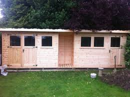 heavy duty pent shed in essex poulton portables