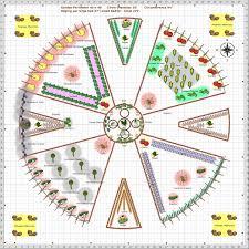 Inside Vegetable Garden by Garden Plan 2013 Circular Vegetable Garden