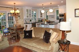 open floor plan kitchen and living room kitchen living room open floor plan pictures flooring ideas for