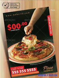 pizza flyer template restaurant flyer template 56 free word pdf