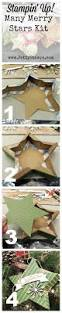 how to make the many merry stars kit diy christmas craft from