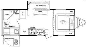 Floor Plan Finder Used 2011 Cruiser Fun Finder X X 215 Wsk Travel Trailer At General