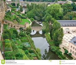 the kitchen gardens in luxembourg stock images image 30121834