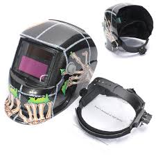 audew solar auto darkening welding helmet arc tig mig mask