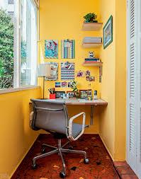reforma o home office foi parar na varanda do apartamento blog