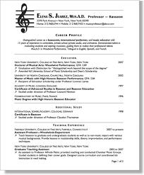 Resume For Educators Chapter 9 Resumes For University Educators Expert Resumes For
