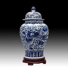 What Is Ginger Jars Aliexpress Com Buy Blue And White Dragon Chinese Reproduction