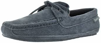 mens bedroom shoes bearpaw luke men s moccasin slippers house shoes fleece plaid lined