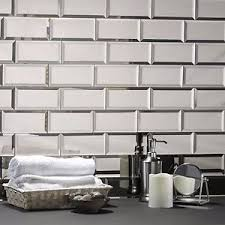 mirror backsplash in kitchen 3 x6 peel and stick mirror tiles mirror backsplash kitchen tile