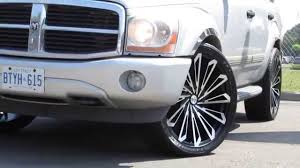hillyard custom rim u0026tire dodge durango 24 inch rims custom youtube
