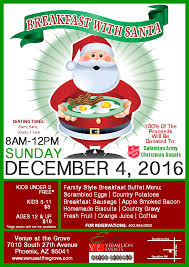 breakfast buffet with santa venue at the grove