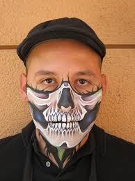 skeleton face paint halloween psychedelic skull mask by ronniemena ronniemena u0027s artwork