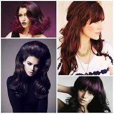 aubergine hair color trend u2013 best hair color trends 2017 u2013 top