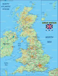 Map Of Britian Map Of Great Britain United Kingdom Map In The Atlas Of The