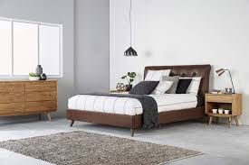 london queen size upholstered bed bedshed bedshed