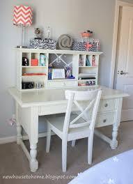 Simple White Desk by White Desk For Teenage Girl 9058