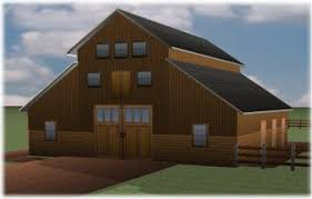 Barn Packages For Sale Wooden Pole Barn Kits Wood Pole Barns