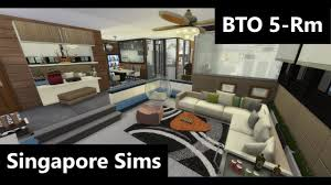 hdb 5 room interior design ideas singapore sims 4k hd youtube