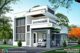 1800 sq ft floor 3 bedroom home with floor plan kerala home