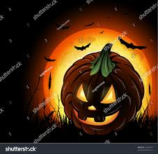 halloween background pumpkin halloween background pumpkin lantern stock vector 61390474