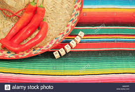 Bright Colored Rugs Traditional Mexican Fiesta Poncho Rug In Bright Colors With