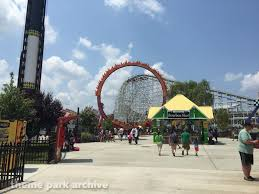 Six Flags Bowie Md Bourbon Street Fireball At Six Flags America Theme Park Archive