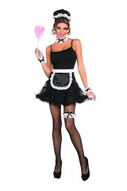 Maid Halloween Costumes Amazon French Maid Accessory Kit Clothing