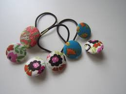 hair bobbles how to make fabric hair bobbles rasberry