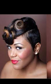 how to do pin curls on black women s hair pin curls black hairstyles hairstyle for women man